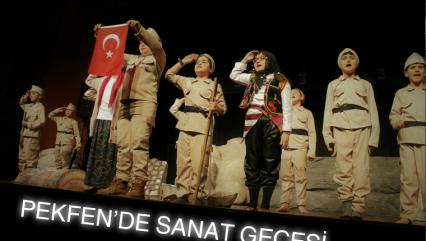 PEKFEN'DE SANAT GECESİ